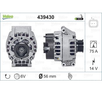 Alternateur VALEO 439430