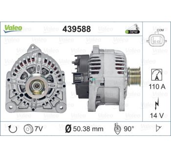 Alternateur VALEO 439588