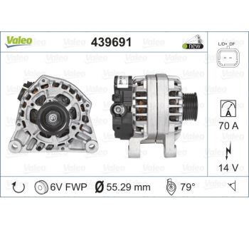 Alternateur VALEO 439691